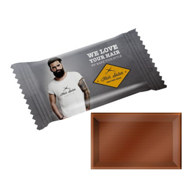 Chocolat publicitaire MINI BAR FLOW PACK - article publicitaire