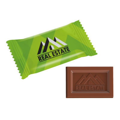 Chocolat publicitaire MINI BAR FLOW PACK LOGO - article publicitaire