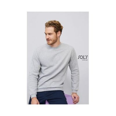 SWEAT-SHIRT HOMME COL ROND SPIDER - article publicitaire