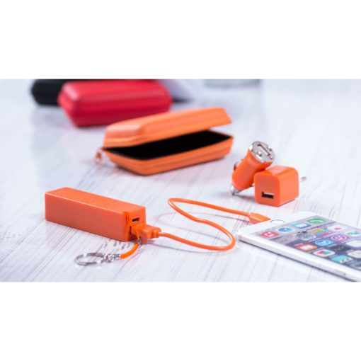 Set Power Bank Rebex - article publicitaire