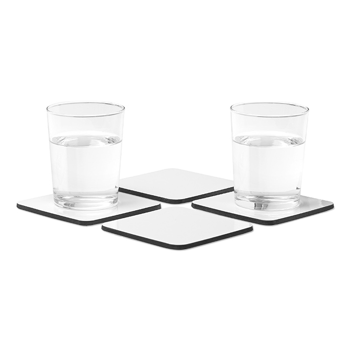 Set de 4 sous-verres COSTY - article publicitaire
