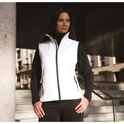 Bodywarmer Softshell Femme Printable - article publicitaire