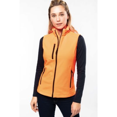 BODYWARMER SOFTSHELL FEMME - article publicitaire