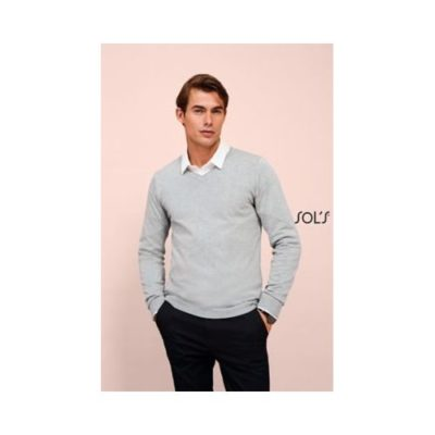 PULL COL V HOMME GLORY MEN - article publicitaire