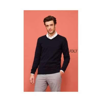PULL COL V HOMME GALAXY MEN - article publicitaire