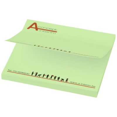 Post-its Sticky-Mate® 75x75mm - article publicitaire