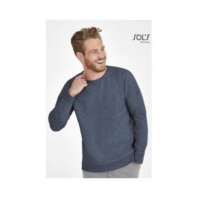 SWEAT-SHIRT HOMME COL ROND SULLY - article publicitaire