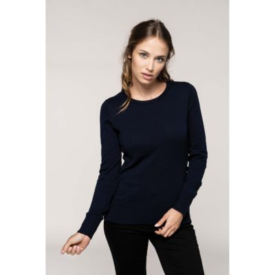 PULL COL ROND FEMME - article publicitaire