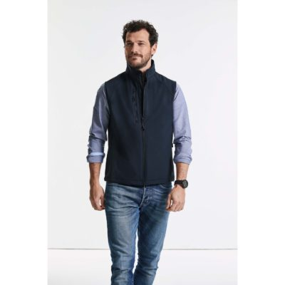 BODYWARMER SOFTSHELL HOMME - article publicitaire