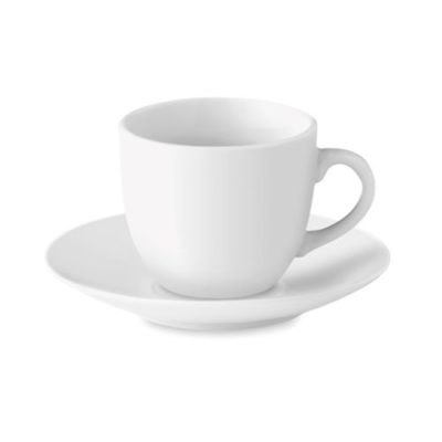 Espresso cup and saucer 80 ml - article publicitaire
