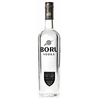 VODKA BORU sans étui (Irlande) 37,5° 70cl. - article publicitaire