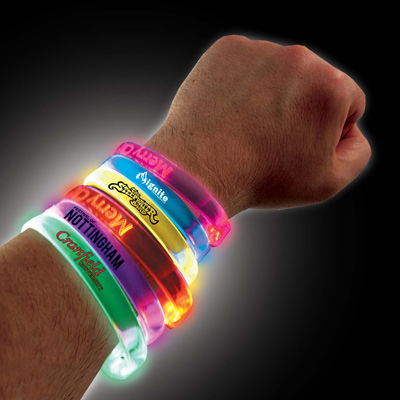Bracelet LED - article publicitaire
