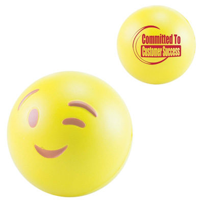 Balle anti stress Smiley - article publicitaire