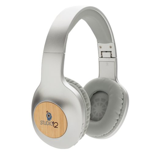 Casque audio en bambou Dakota - article publicitaire