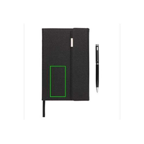Set carnet de notes A5 et stylo Swiss Peak - article publicitaire