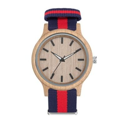 Montre WOODY nato stock france - article publicitaire