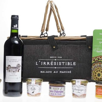 IRRESISTIBLE - Panier Gourmand - article publicitaire