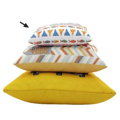 Coussin rempli - polyester full color - article publicitaire