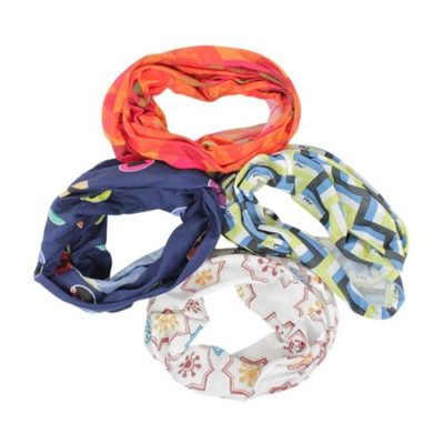 Foulard modele tubulaire - polyester full color - article publicitaire