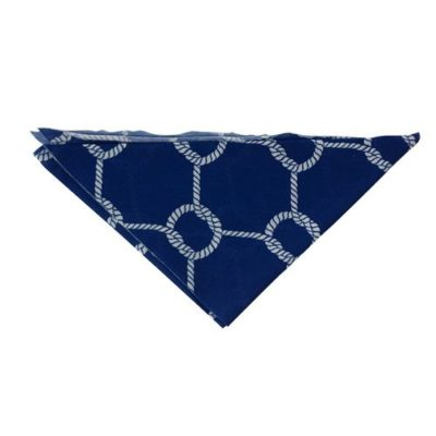 Foulard modele triangle touche coton - polyester full color - article publicitaire