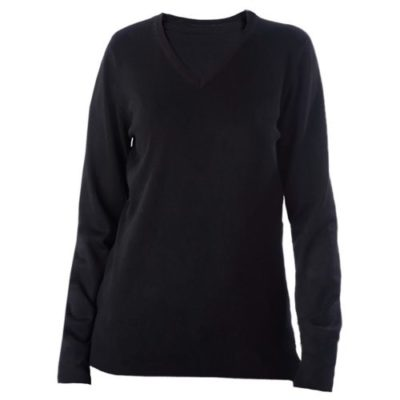 Pull col V femme - article publicitaire